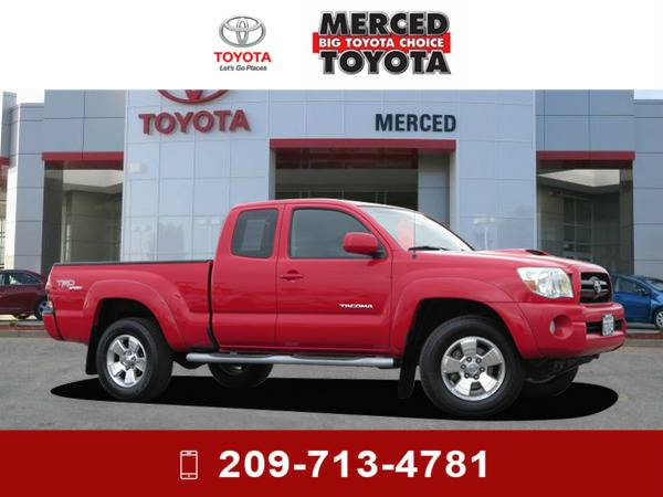 *2006* *Toyota Tacoma* *Radiant Red*