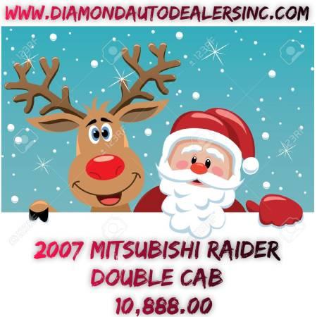 2007 Mitsubishi Raider Double Cab*Diamond Auto Dealers, Inc.