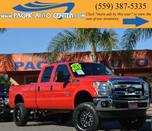 *2015 Ford F350 XLT 4x4 Lifted Diesel F350 Truck #14757