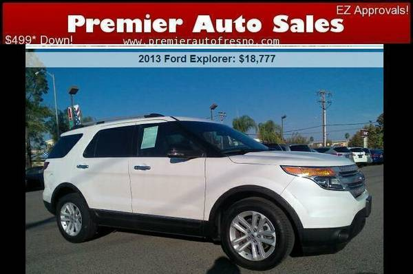 2013 Ford Explorer XLT, 3rd Row Seating, Clean, Alloys, Finance