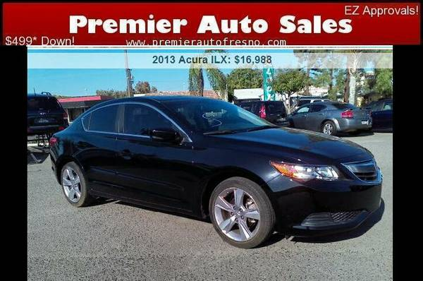 2013 Acura ILX 2.0, Low Miles, Gas Saver, Luxury, On Sale Now! Call!