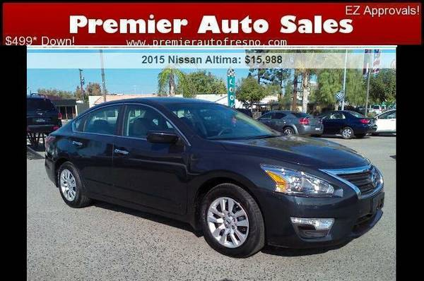 2015 Nissan Altima 2.5 S, Factory Warranty, Like-New, Wow, Call Now!