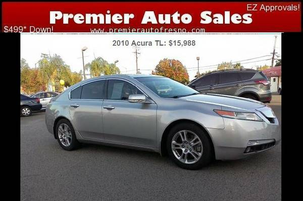 2010 Acura TL, Loaded, Low Miles, Very Clean, Low Down, Come See! Sale