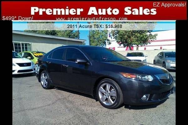 2011 Acura TSX, Loaded, Low Miles, Hard To Find, Clean, Call Now!