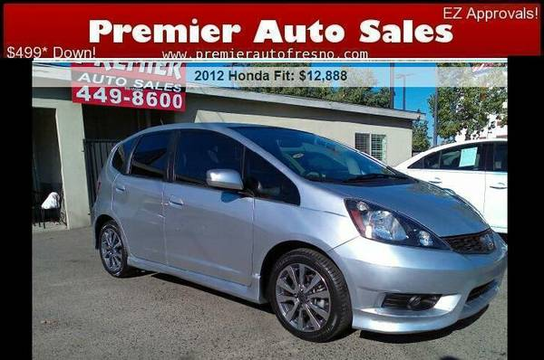 2012 Honda Fit Sport, Auto, Gas Saver, Sporty, On Sale Now! Call Now!