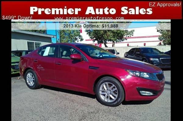 2013 Kia Optima LX, Low Miles, Gas Saver, Like-New, On Sale Now! Call!