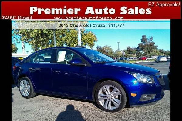 2013 Chevrolet Cruze LTZ, Loaded, All Options, EZ Financing, Call!