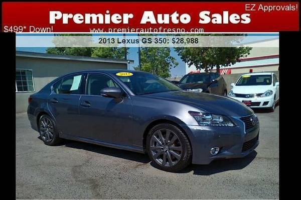 2013 Lexus GS 350,Clean, Fully Loaded, Luxury, Finance OK!, Call Now!