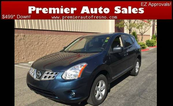2012 Nissan Rouge S, SUV Space WITH Gas Savings, Low Down, All Power,
