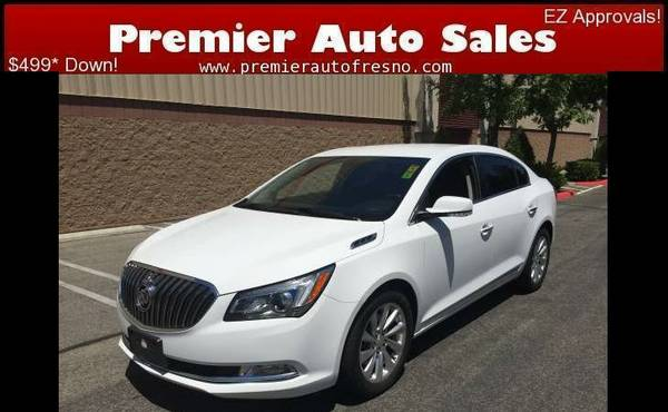 2015 Buick Lacrosse, Like-New, Warranty, Save $1,000s, Low Miles, Call