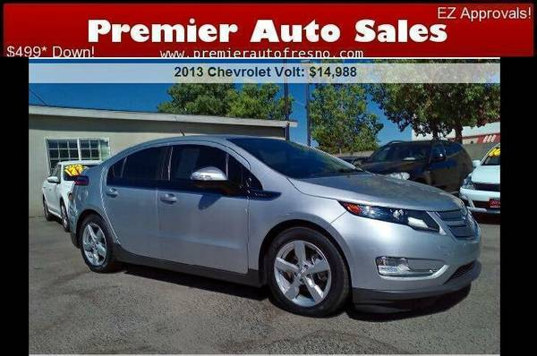 2013 Chevrolet Volt, Low Miles, Like-New, Electric AND Gas, On Sale!