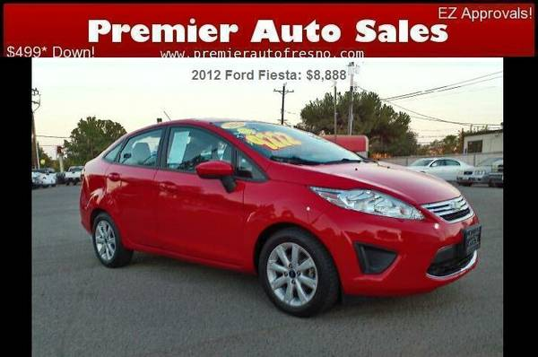 2012 Ford Fiesta SE, Gas Saver, Auto, On Sale, Low Down, Fast Sale!