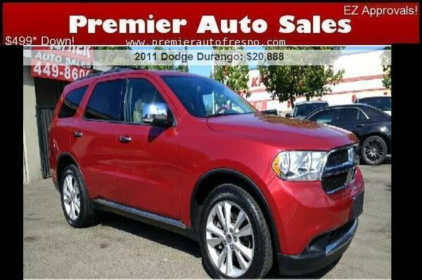 2011 Dodge Durango Crew Lux, V8, Auto, 3rd Row, On Sale Now!