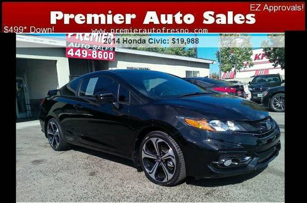 2014 Honda Civic Si, iVTEC, Low Miles, Warranty, Gas Saver, Sporty