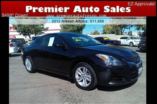 2012 Nissan Altima 2.5S, CLEAN, CALL NOW, GAS SAVER, 4DR, LOW DOWN,