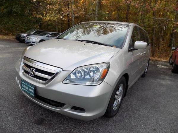2007 *Honda Odyssey* EX (Silver Pearl Metallic)