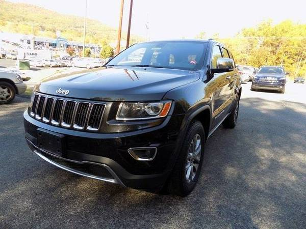 2015 *Jeep Grand Cherokee* Limited (Bright White Clearcoat)