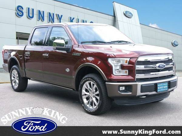 2016 *Ford F-150* 4WD SuperCrew 145 King Ranch - Bronze Fire Metallic