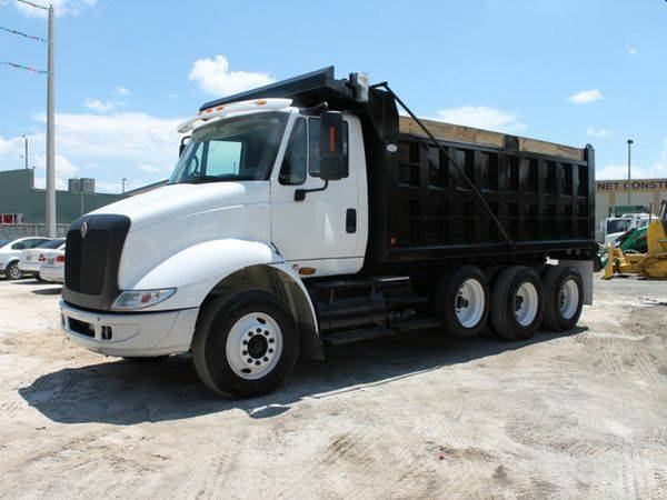 2007 *INTERNATIONAL* *8600* *DUMP* *TRUCK* - We Finance!