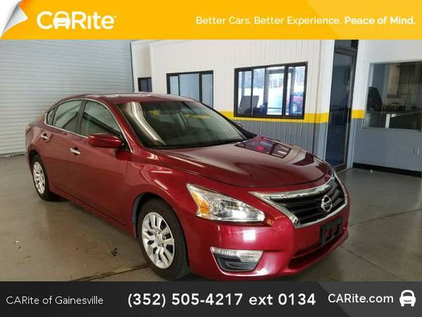 2015 *Nissan Altima* 4dr Sdn I4 2.5 (Red)