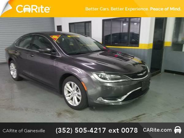 2015 *Chrysler 200* 4dr Sdn Limited FWD (Gray)
