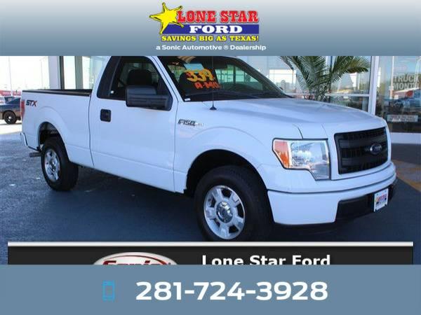 *2014* *Ford F150* *STX 2WD Reg Cab 126* White