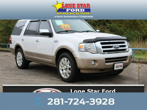 *2014* *Ford Expedition* *King Ranch 2WD 4dr* White