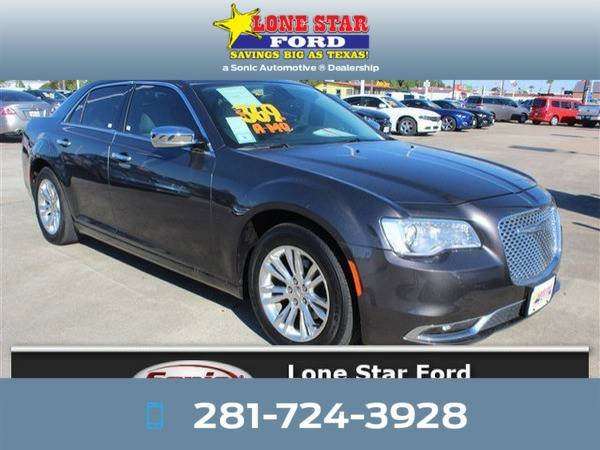*2016* *Chrysler 300c* *300C 4dr Sdn RWD* Gray