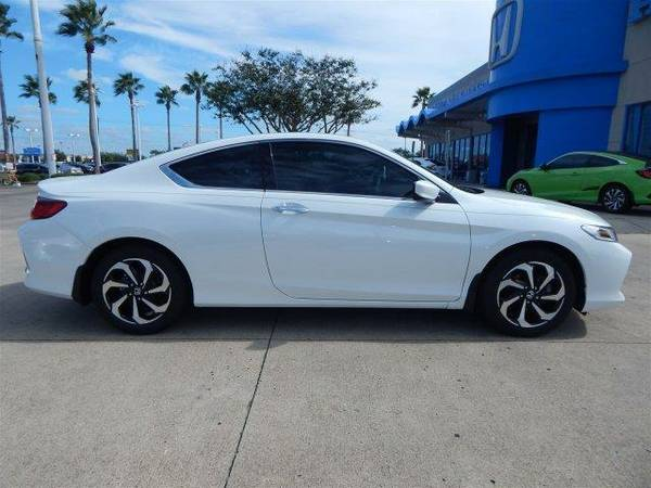 2017 *Honda Accord Coupe* LX-S - White Orchid Pearl