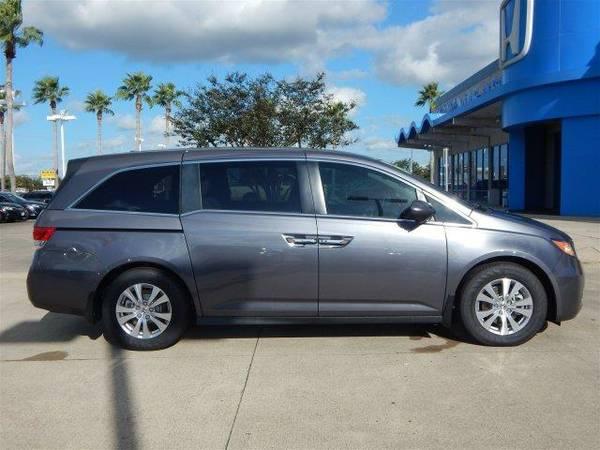 2016 *Honda Odyssey* EX-L - Modern Steel Metallic