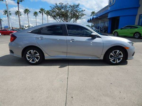 2016 *Honda Civic Sedan* LX - Lunar Silver Metallic