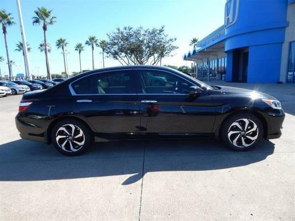2017 *Honda Accord Sedan* EX-L - Crystal Black Pearl