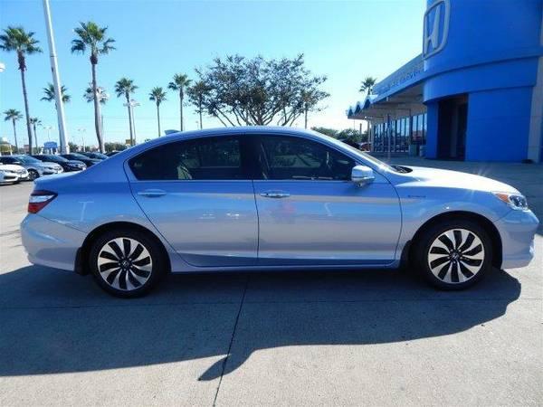 2017 *Honda Accord Hybrid* HYBRID - Blue Sky Metallic