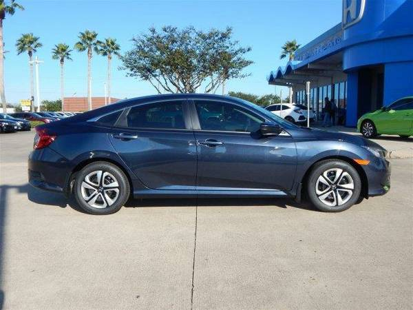 2017 *Honda Civic Sedan* LX - Cosmic Blue Metallic