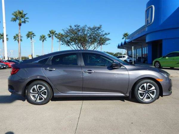2017 *Honda Civic Sedan* LX - Modern Steel Metallic