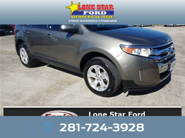 *2014* *Ford Edge* *SEL 4dr FWD* Gray