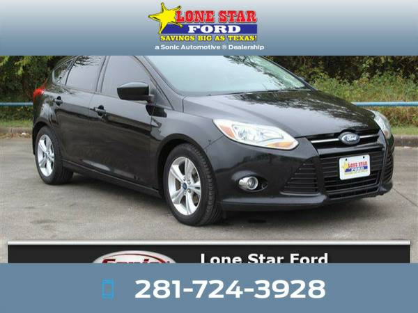 *2012* *Ford Focus* *SE 5dr HB* Black