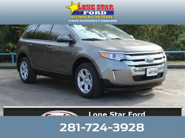 *2013* *Ford Edge* *SEL 4dr FWD* Brown