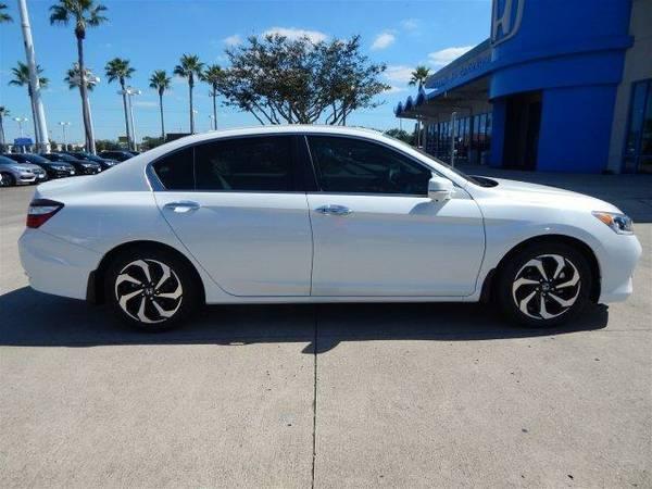 2017 *Honda Accord Sedan* EX-L - White Orchid Pearl
