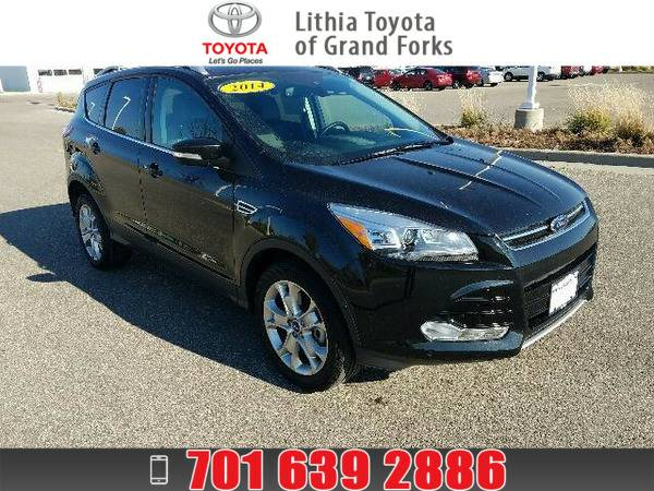 *2014* *Ford Escape* *TITANIUM* BLACK