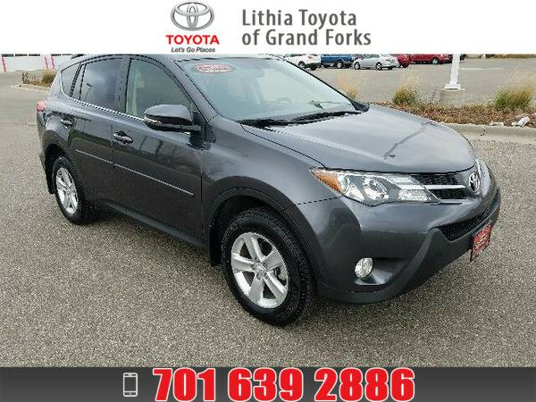 *2014* *Toyota Rav4* *XLE* MAGNETIC GRAY PEARL
