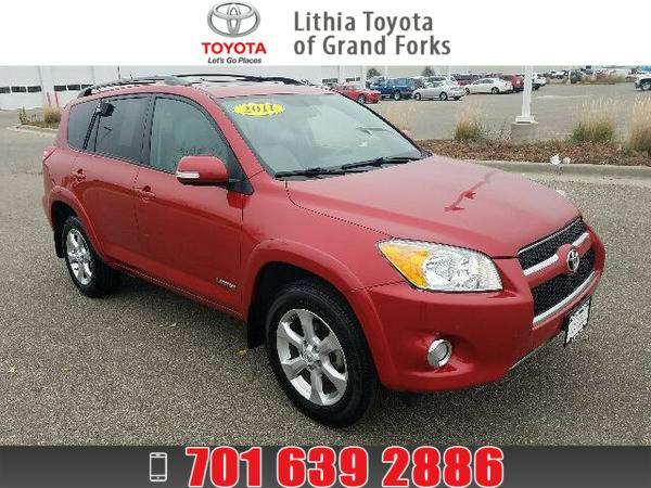 *2011* *Toyota Rav4* *LIMITED* RED
