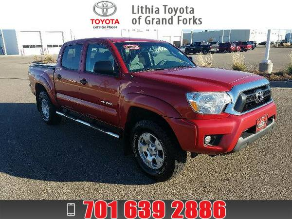 *2013* *Toyota Tacoma* *DOUBLE CAB* RED