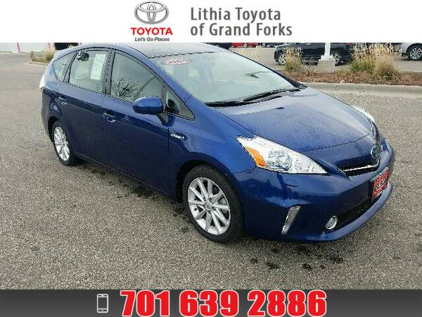 *2012* *Toyota Prius V* ** BLUE