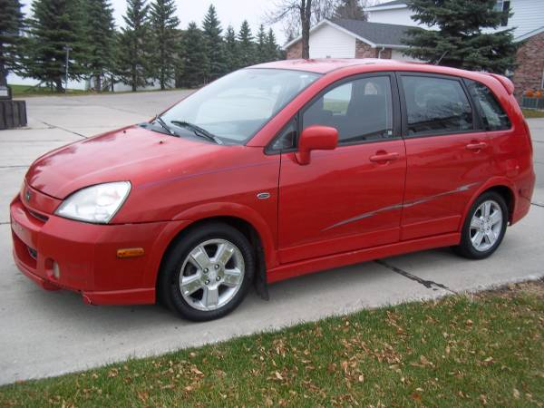 Suzuki 2003 Aerio SX all-wheel-drive (195XXX miles) AWD, 4 cylinders.