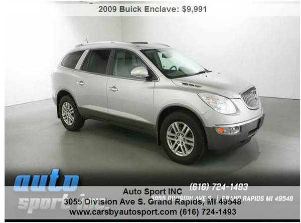 09 Buick Enclave CX 4dr SUV **Lowered Priced to sell TODAY! ~~Save$$