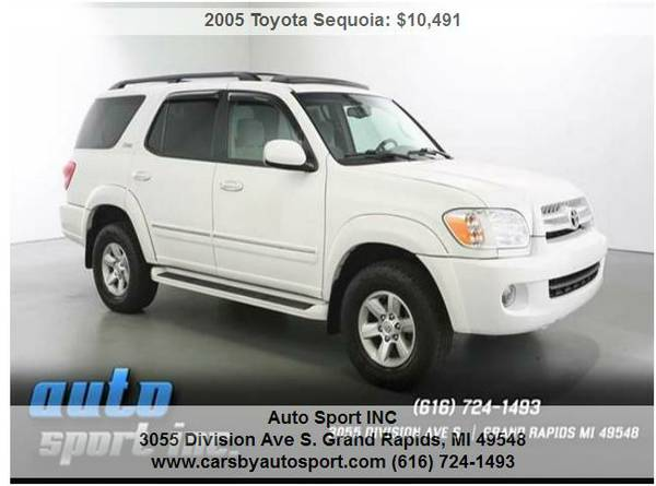2005 Toyota Sequoia SR5 4WD 4dr SUV- ***Lowered Priced to sell TODAY!