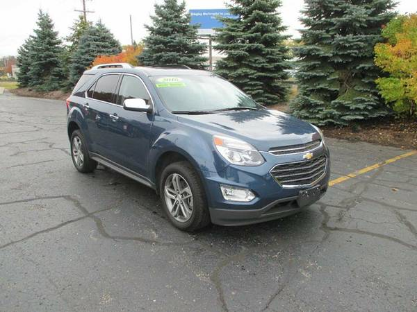 2016 Chevrolet Equinox LTZ AWD SUV *CERTIFIED CARFAX AVAILABLE*