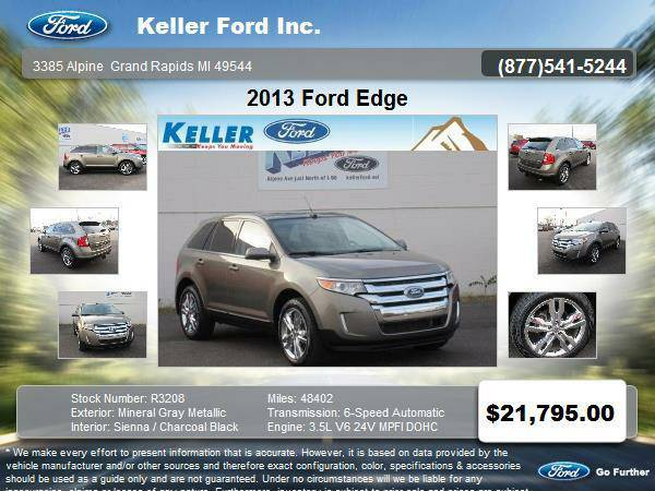 2013 Ford Edge 4 Door SUV