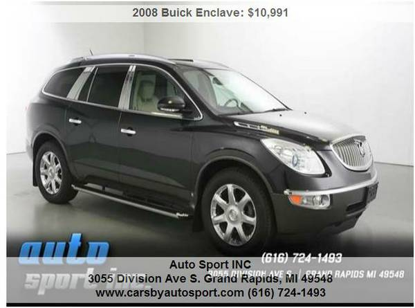 2008 Buick Enclave CXL 4dr SUV ***Lowered Priced to sell TODAY!